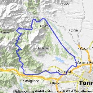 Venaria - Col del Lys - Venaria