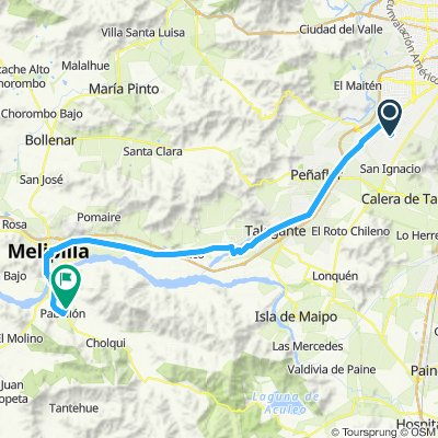 Camino Viejo a Pabellón