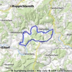 Siegtour (Mauel-Herchen-Mauel)