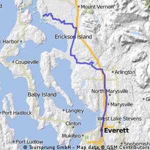 Everett to La Conner