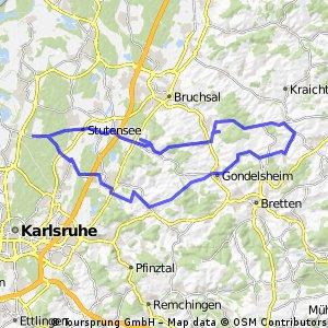 Kraichgau bis Gochsheim
