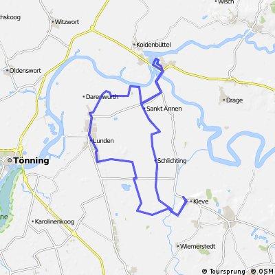 Tour de Moor in Dithmarschen