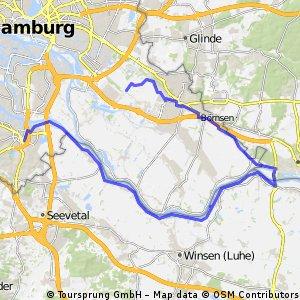 Harburg Elbuferstrasse Bergedorf