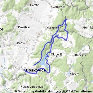 Boskovice- Pohora