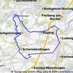 Ludwigsburger MTB Runde