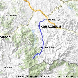 (road) Negotino-Kavadarci-Alsar-Negotino