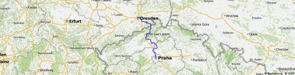 Dresden - Prag