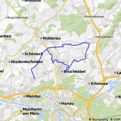Rundkurs Wachenbuchen-Hohe Str.-Neuberg