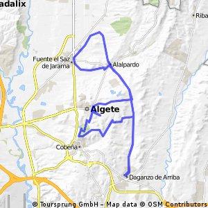 Daganzo-Cobeña-Algete-Alalpardo-F.El Saz-Alalpardo-Daganzo