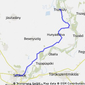 Szolnok - Tiszasűly v2