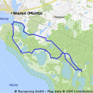 Müritz See, Nationalparktour 2