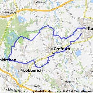 Um Grefrath und Hinsbeck