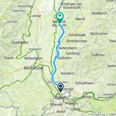 Rheintour 4. Tag