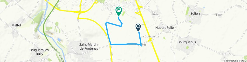 Chemin de Nampioche - Rue des Grands Lacs