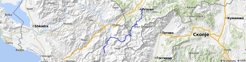 18.B Prizren - Reci - 120km
