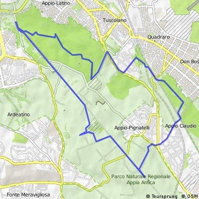 Itinerario nel Parco Appia Antica organizzato dal Parco