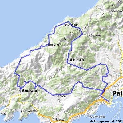 92km Mallorca West mit tollen Ausblicken