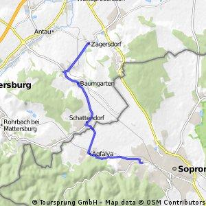 Sopron- Zagersdorf- Sopron