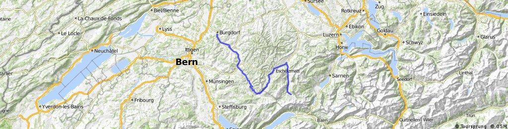 Burgdorf - Sörenberg