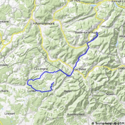 Tour d'Alsace, Stage 2, Col du Brabant - Plateau des Milles Etangs