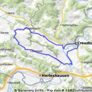 Durch den Hainich-Naturpark Thüringen