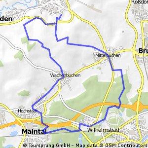 Home-Loop 3: Wilhelmsbad - Hochstadt - Wachenbuchen