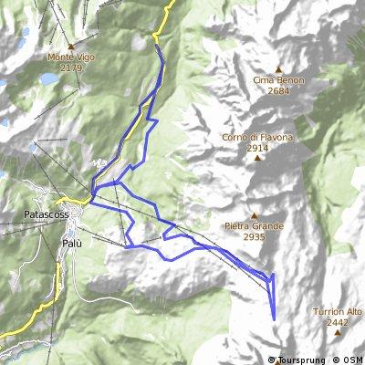 Dolomiti 2015 - Passo del Groste