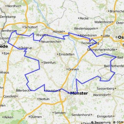 100 Schlösser Route Münsterland Nordkurs