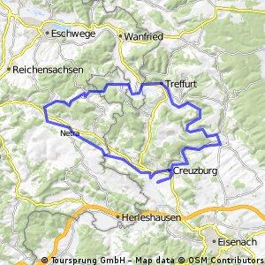 Durch Hainich-NP und Werratal