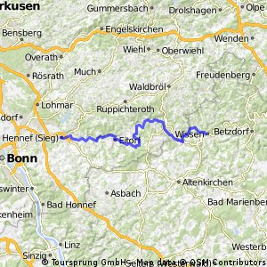 Kyll - Weser Etappe 3 Hennef - Wissen