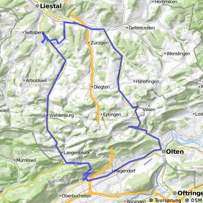 Grosse Tour Baselbiet / Gäu / Olten / Hauenstein