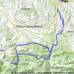 Marie-Blanque --Col d'Ichère--Bois du Bager
