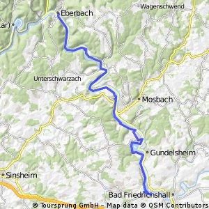 F Neckartour 5 Bad Wimpfen - Eberbach