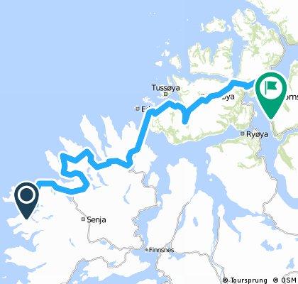Gryllefjord-Tromsø (L-N ruta)