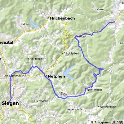 Kyll - Weser Etappe 5 Siegen-Erndtebrück