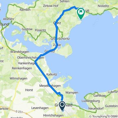 D 050/5: Greifswald - Wreechen/Rügen