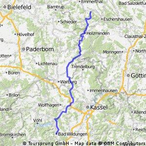 D-Tour 5.6 Bad Wildungen – Bodenwerder