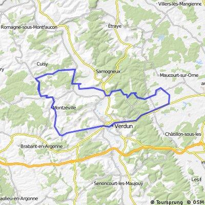 Verdun tour