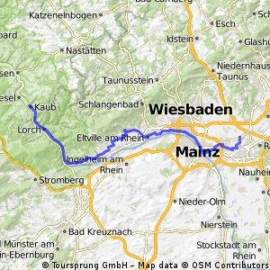 Riesling Radweg
