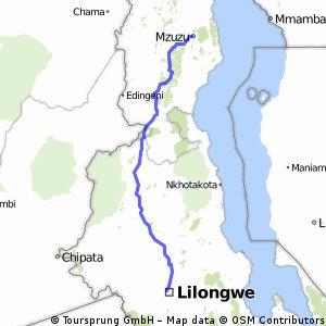 MW_Mzuzu - Lilongwe