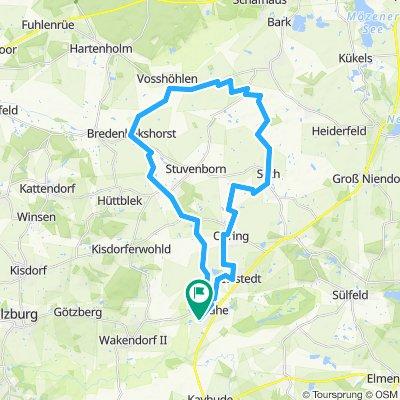 Storchencafè Vosshoehlen (36km)