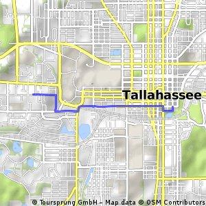 Route to Cascades Park