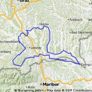 Parktherme Radmarathon Wildon / STRECKE A / 167 KM / 1.186 HM