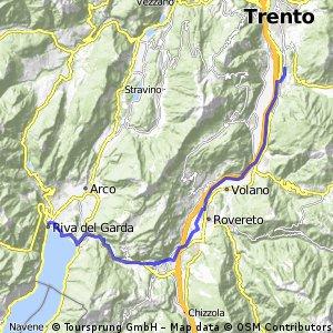 4 Trient bis Gardasee