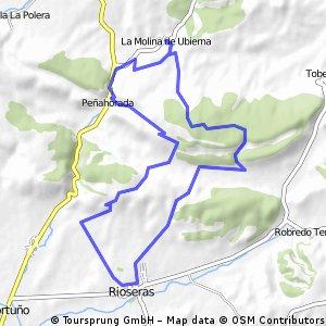 La Molina de Ubierna - Rioseras - Peñahorada - La Molina de Ubierna