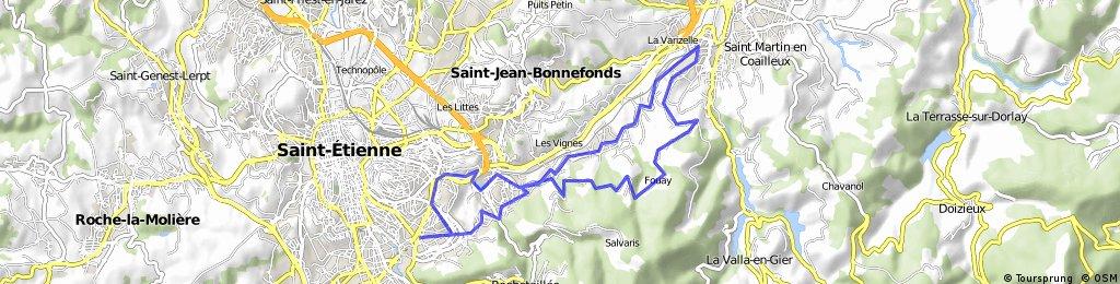 Circuit touristique Terrenoire Izieux