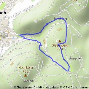 MTB Bundesligastrecke in Heubach