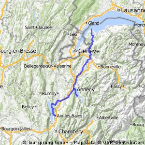 GenferSee(F) - LacAnnecy - LacBourget