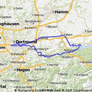 Dortmund Möhnesee und zurück
