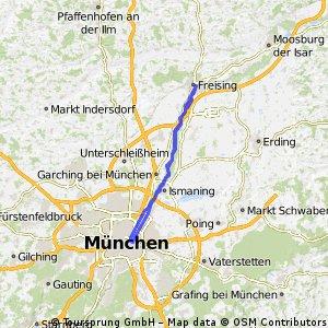 München Isar Nord Klassiker 70km